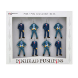 Pinhead Pushpins - Set of 8