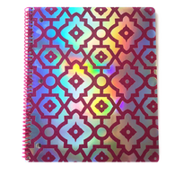 holographic spiral notebook