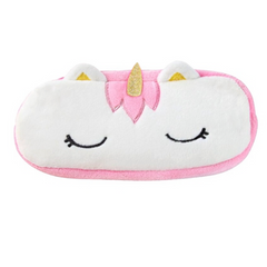 Baby Unicorn Plush Pencil Case