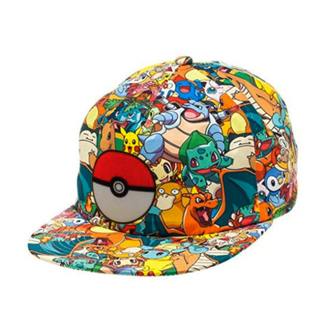 Pokemon Mania Baseball Cap