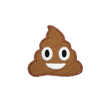 Poop Emoji Patch