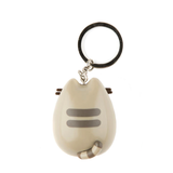 Pusheen Pizza Keychain