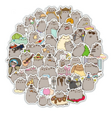 Pusheen Stickers- 10 Pcs