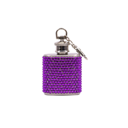 Mini Flask with Rhinestones