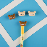 Rilakkuma Pen and Toppers Set