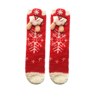 Cozy Santa Socks