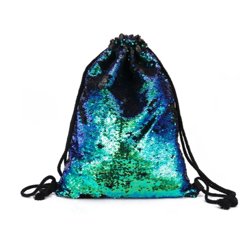 Color-changing Sequins Drawstring Backpack