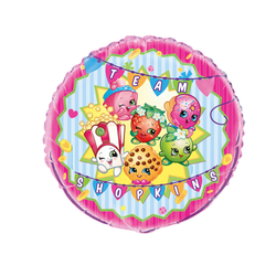 shopkins mylar balloon