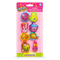 Shopkins Erasers
