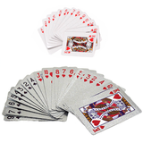 Deluxe Silver Foil Playing Cards Combo