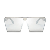 Oversized Square VIP Mirror Sunglasses