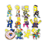 The Simpsons Stickers- 5 Pcs