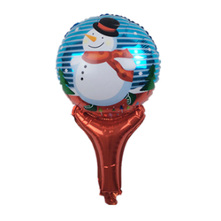 Snow Globe Mylar Balloon