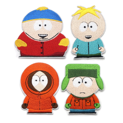 south park iron on embroidery patches