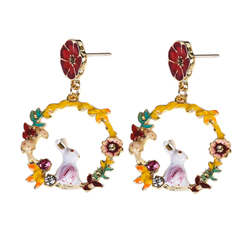 Spring Bunnies Earrings