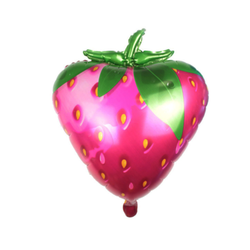 Strawberry Mylar Balloon