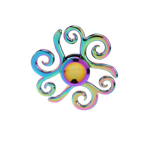 Fancy Swirl Iridescent Fidget Spinner