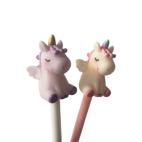 baby unicorn gel pen