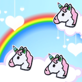 Unicorn Emoji Patches 2-Pack