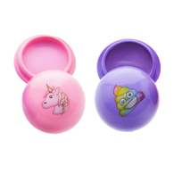 Emoji Unicorn Lip Gloss Set- 2Pcs