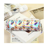 unicorn holographic pencil case