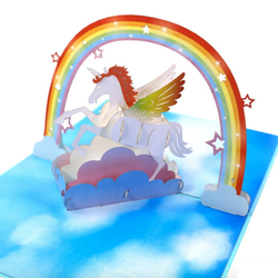 Unicorn 3D Pop Up Card
