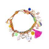 Unicorns, Rainbows & Happiness Bracelet