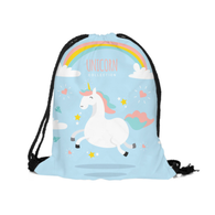 Unicorn Heaven Drawstring Backpack