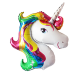unicorn mylar balloon