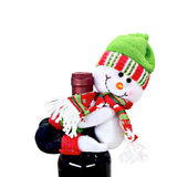 Snowman Wine Bottle Hugger Decoration