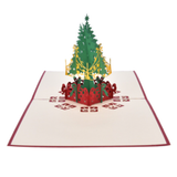 Christmas Tree 3D Pop Up Card