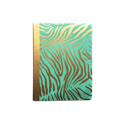 Gold Zebra Stripe Composition Notebook