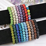 Bracelets - Beaded Crystal Shamballa Bracelets: Colors For All Occassions