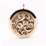 Rose Gold - Mystic Breeze Aromatherapy Locket Necklace: 4 Colors
