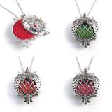 Necklaces - Adorable Owl Essential Oil Diffusing Necklace