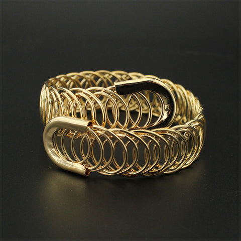 Unique Gold Plated Bangle