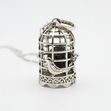 "Necklaces - Essential Oil Diffusing Necklace: ""The Birdcage"""