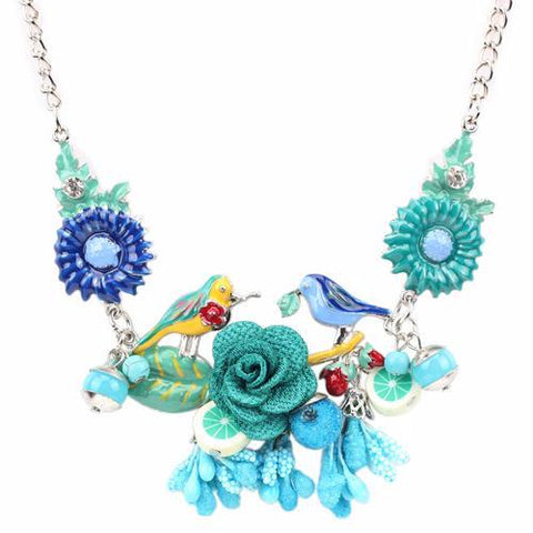 Blue - Promise of Spring Necklace: 6 Designs