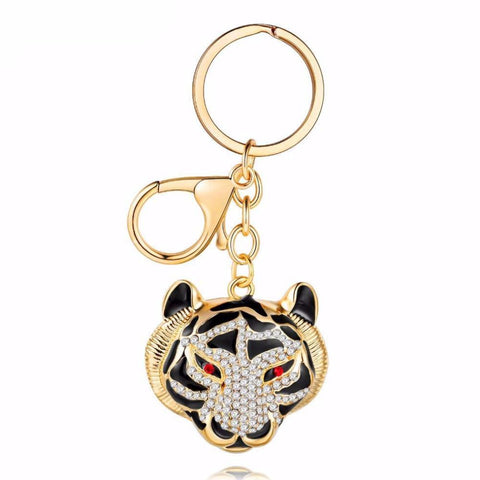 King of the Jungle Tigress Keychain