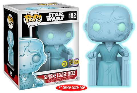 Funko Pop Vinyl! Star Wars Supreme Leader Snoke (Holographic) 2017 Summer Convention Exclusive