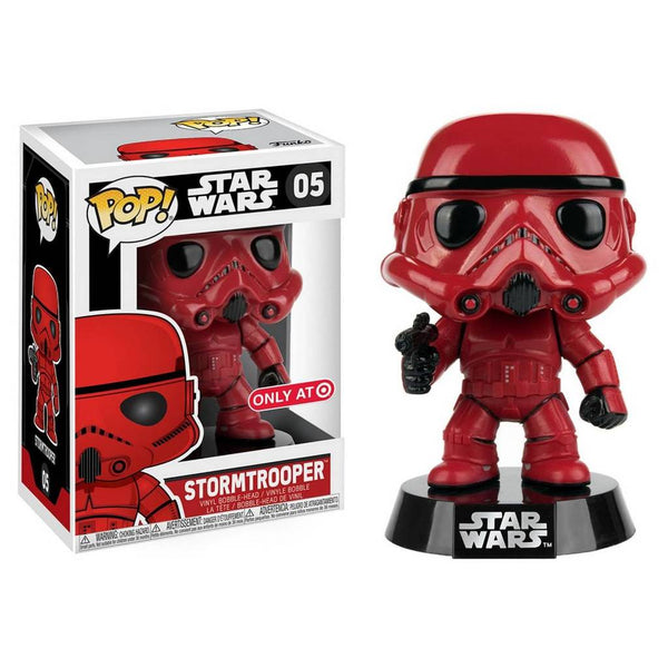 Funko Pop Vinyl! Star Wars Stormtrooper (Red) Exclusive