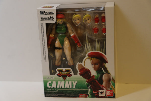 S.H. Figuarts Cammy Street Fighter V 5 Figure No. 3