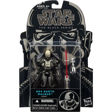 "Star Wars The Black Series Darth Malgus 3.75"" Figure"