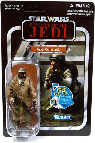 Star Wars The Vintage Collection Rebel Commando Black Variant Revenge of the Jedi VC26 - The Vintage Collection