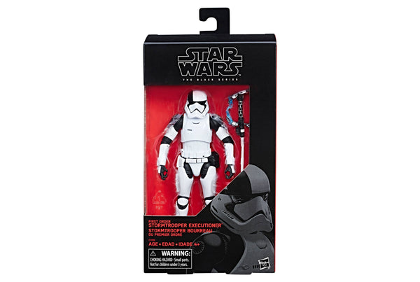 Star Wars Stormtrooper Executioner The Black Series First Order Action Figure