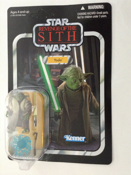 Star Wars The Vintage Collection Vc20 Yoda Revenge Of The Sith