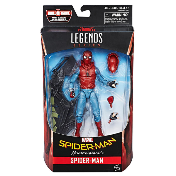 MARVEL LEGENDS BAF SPIDER-MAN (HOMEMADE SUIT)