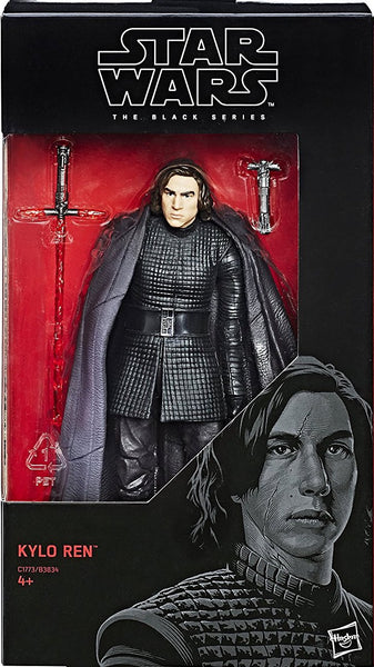 "Star Wars The Black Series 6"" Kylo Ren (Last Jedi)"