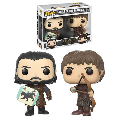 Game Of Thrones Battle Of The Bastards Pop! Vinyl Figure 2-Pack October 2017