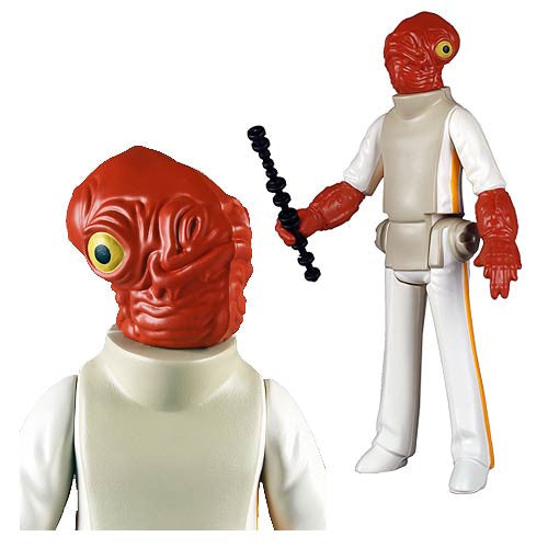 Star Wars Admiral Ackbar Jumbo Kenner Action Figure By Gentle Giant